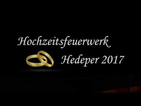Hochzeitsfeuerwerk Hedeper 2017