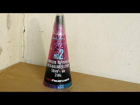 Zink Vulkan No. 2 Kat: II - Pyrocheck Silvester Feuerwerk Full HD -