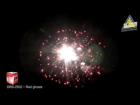 Red Ghost - Evolution Fireworks - Dreamscape Collection - vuurwerkbieb.nl